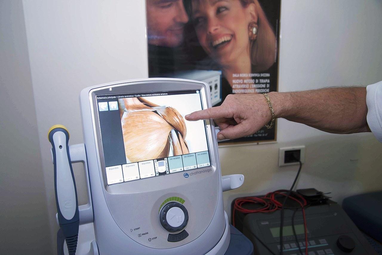 Elettroterapia Horizontal therapy, Linfodrenaggio computerizzato, Biofeedback