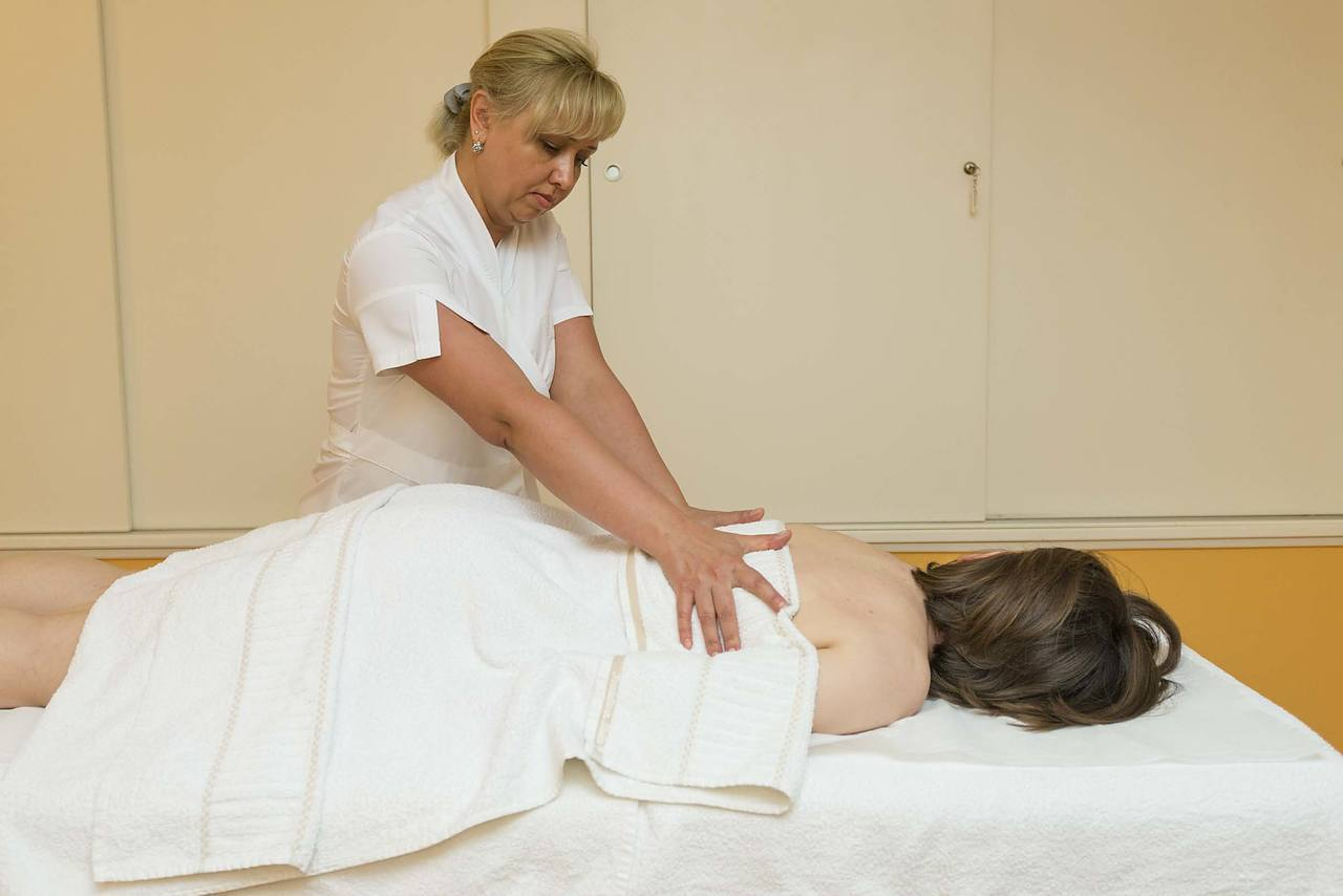 Massoterapia per stress e tensione muscolare